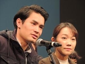 ウォン・ジョン監督(左)、脚本:フローレンス・チャンさん(右).jpg